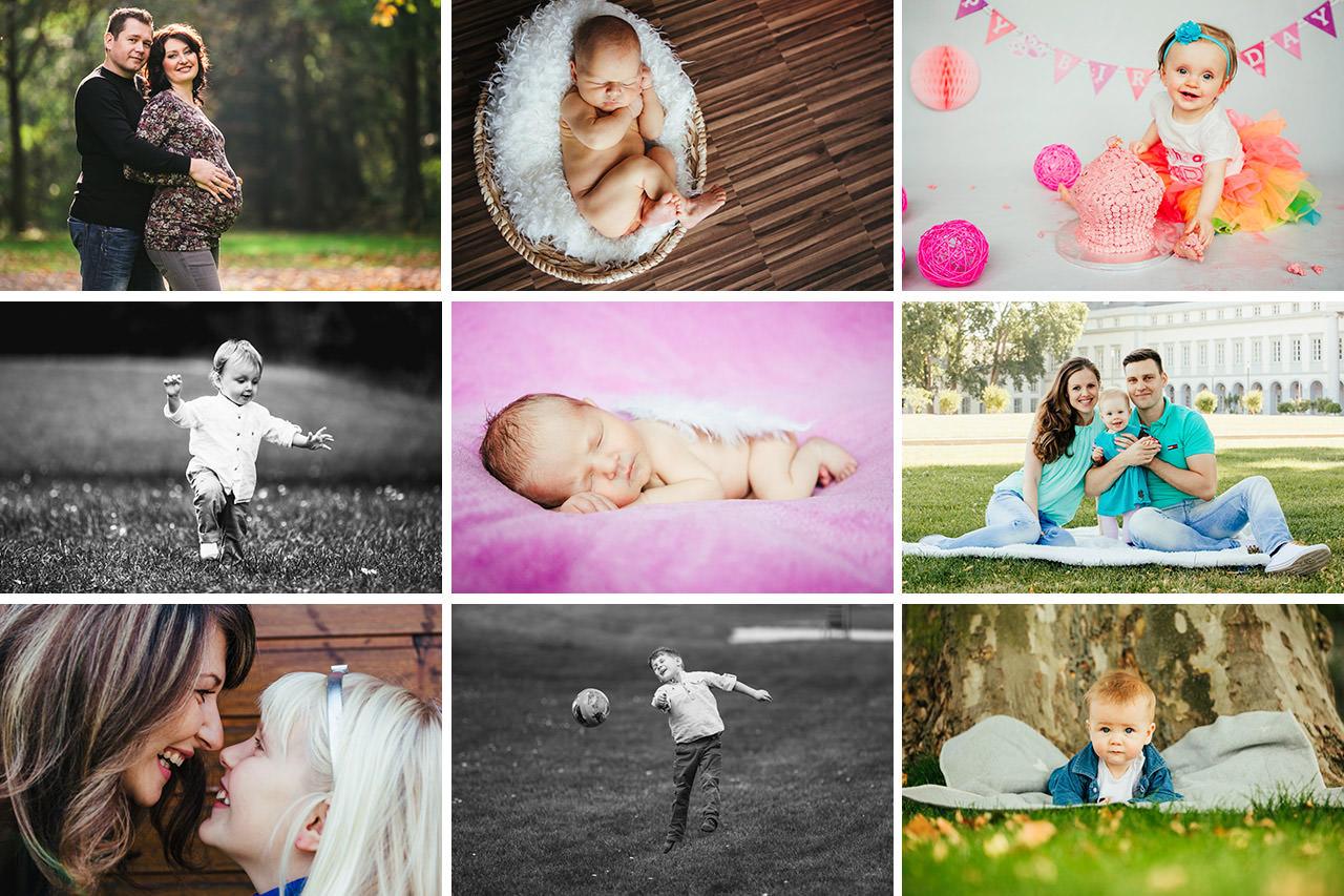 collage nom fotografie