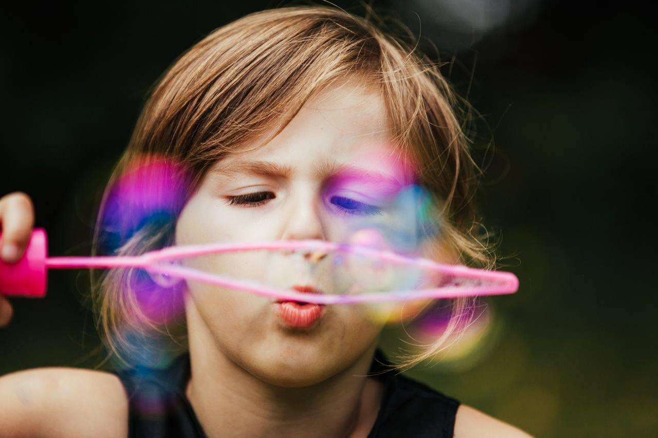Kinder seifenblasen andernach fotograf